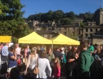 Holmfirth food festival 2015