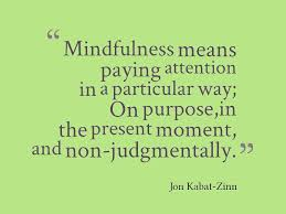 Mindful definition